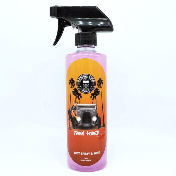 spray car wash formula